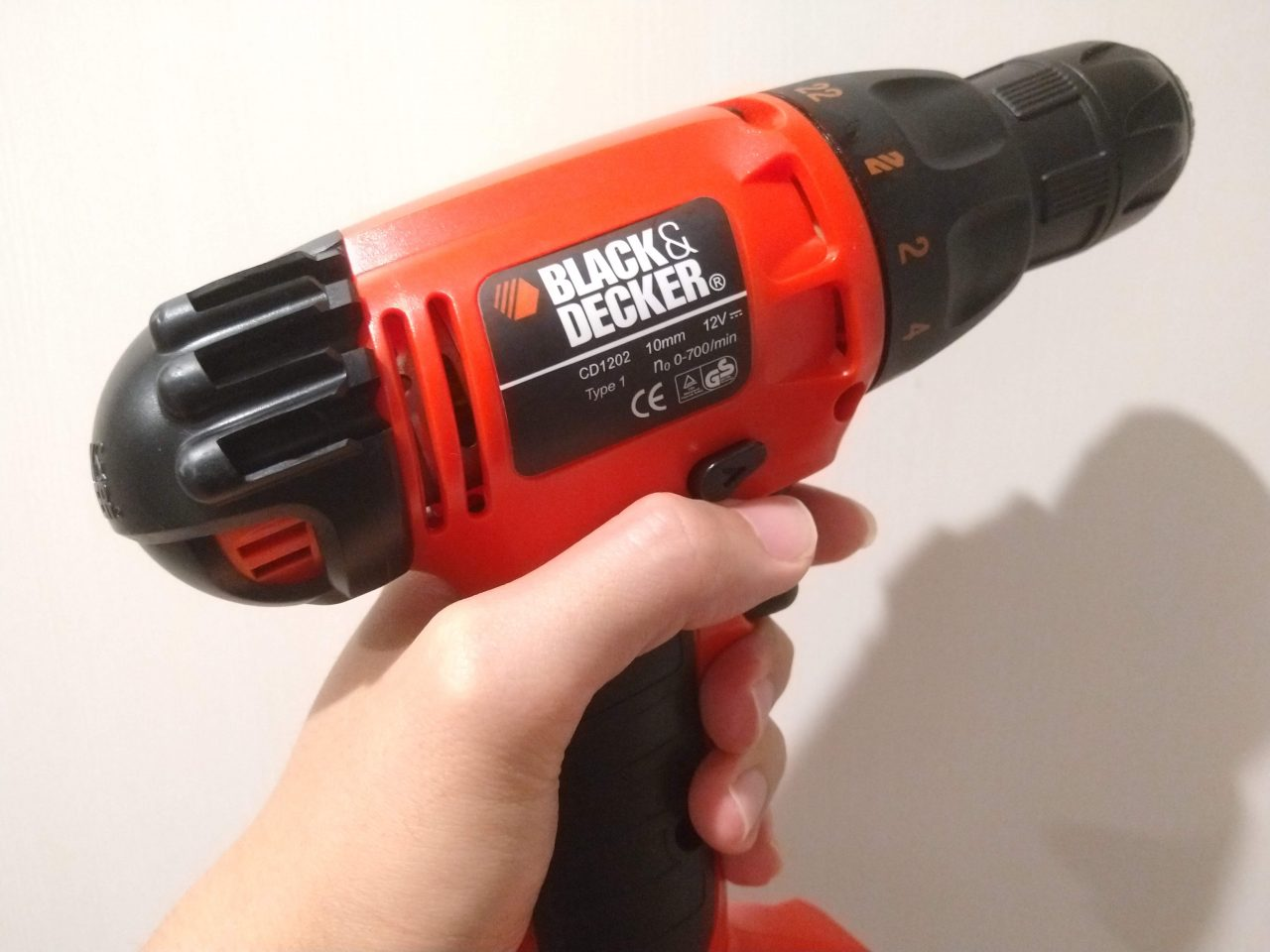 BLACK&DECKER CD1202